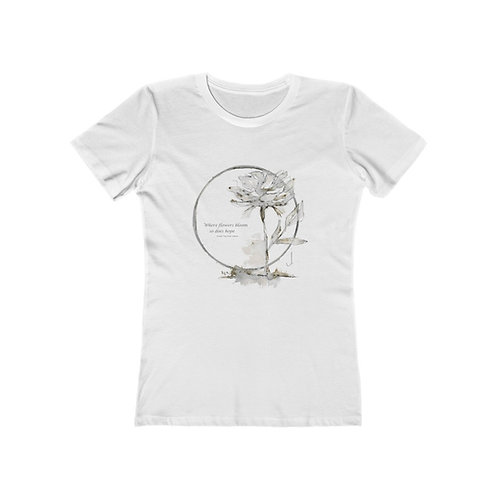 1212HOPE04 Women's The Boyfriend Tee