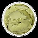Hausgemachte grüner Tee-Eis