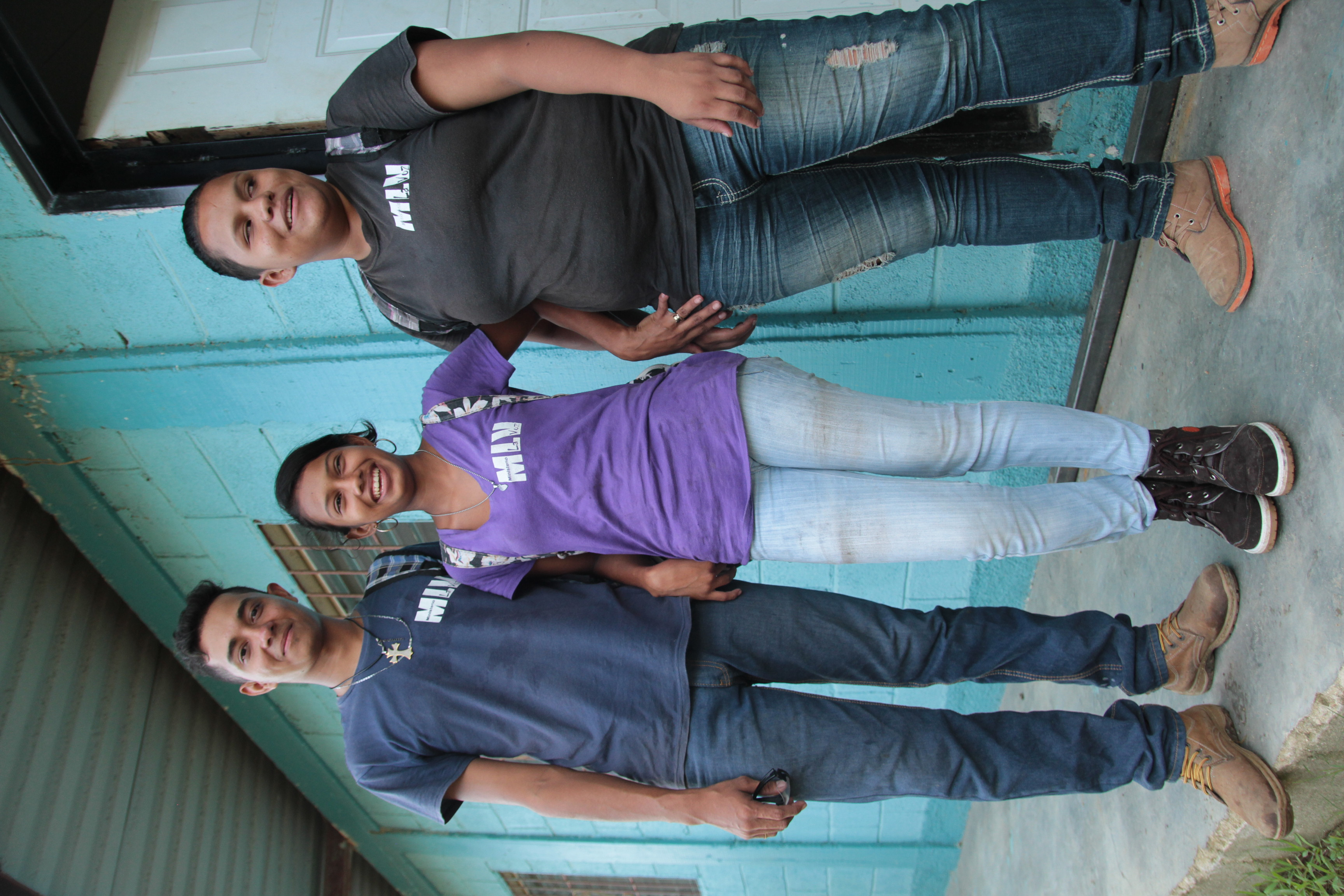 Frank, Itza, and Nicol
