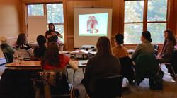 Beth Ann teaching women's wellness