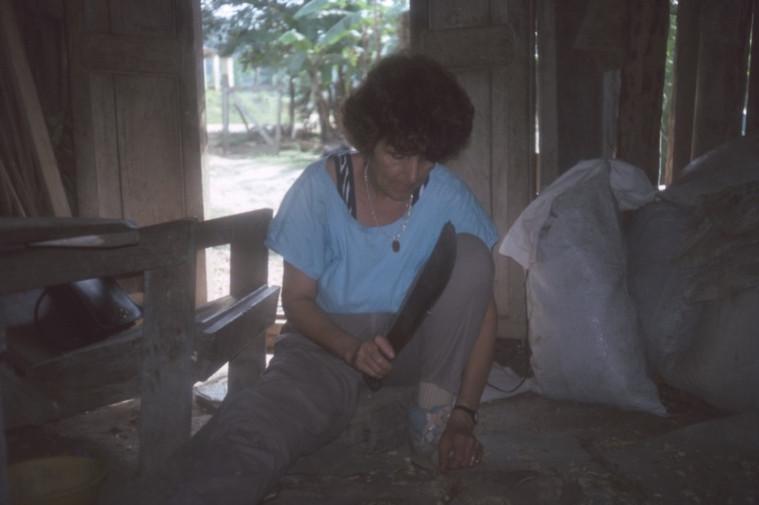 Rosita working on patient.jpg