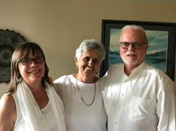 Beth & Bob Townsend with Dr. Rosita Arvigo