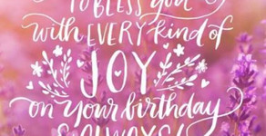 Graceful Perseverance: Birthdays; In the Eye of the Lord - 09/06
