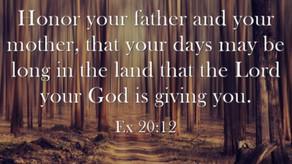 Graceful Perseverance: God's 5th Commandment - 09/20