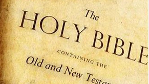 Graceful Perseverance: The Bible, Old Testament; Part 1 –04/07