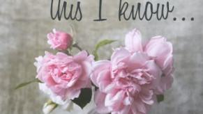 Graceful Perseverance: Jesus Loves Me - 12/06