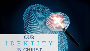 Graceful Perseverance: Our Identity. . .IN Christ - 08/30