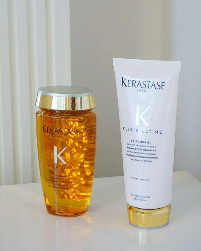 Enriched with beatifying oils, Kérastase