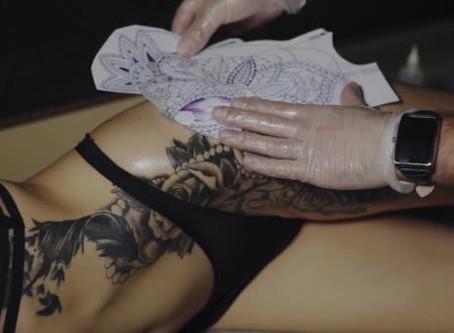 Réaliser son transfert pour votre tatouage