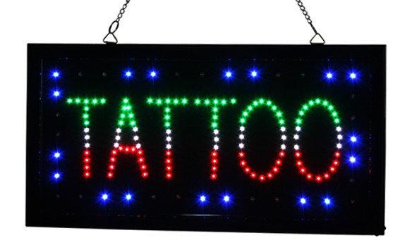 enseigne lumineuse pour tatouage led