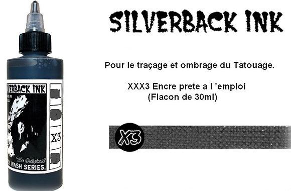 encre tatouage silverback
