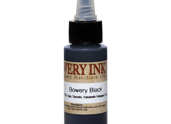 Encre tatouage intenze bowery black