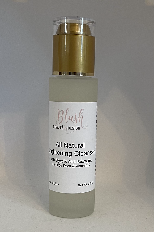 All Natural Brightening Cleanser (4oz)
