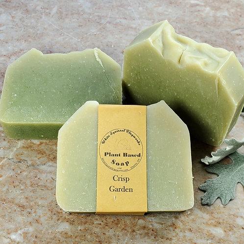 Crisp Garden Scented All Natural Handmade Soap - 4oz