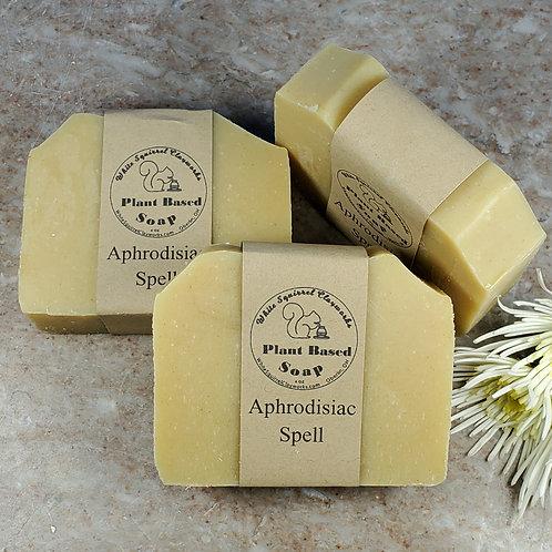 Aphrodisiac Spell Scented All Natural Handmade Soap - 4oz