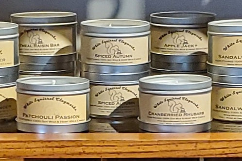 Sandalwood of India Hand-Poured Soy Candle - 7oz
