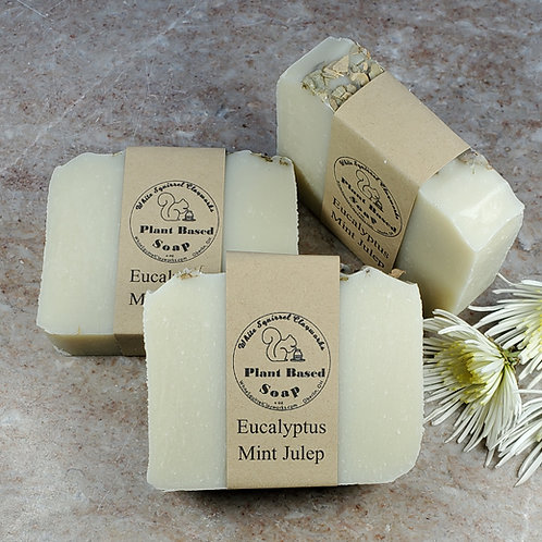 Eucalyptus Mint Julep Scented All Natural Handmade Soap - 4oz