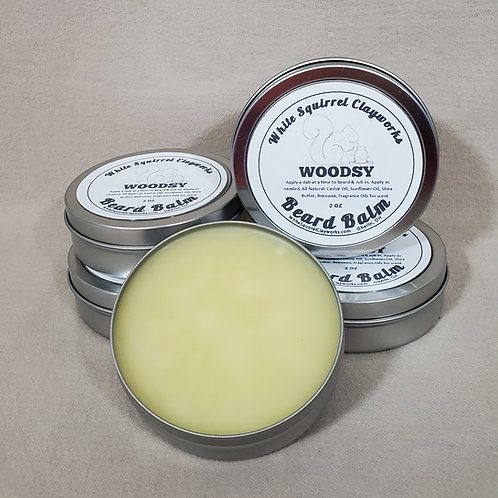 All Natural Handmade Beeswax Beard Balm - Assorted Scents - 2oz