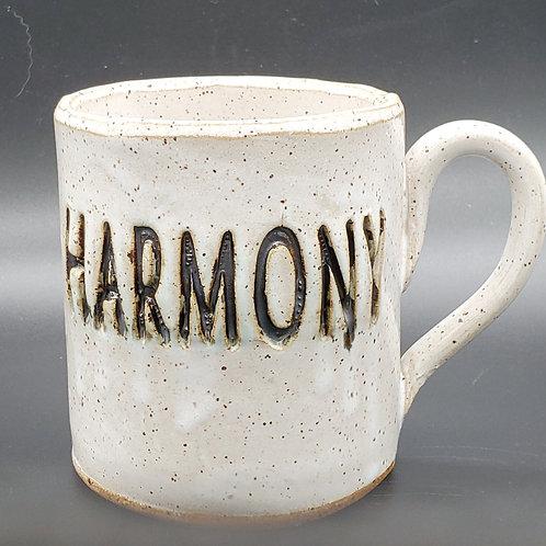 Handmade Ceramic White Harmony Mug