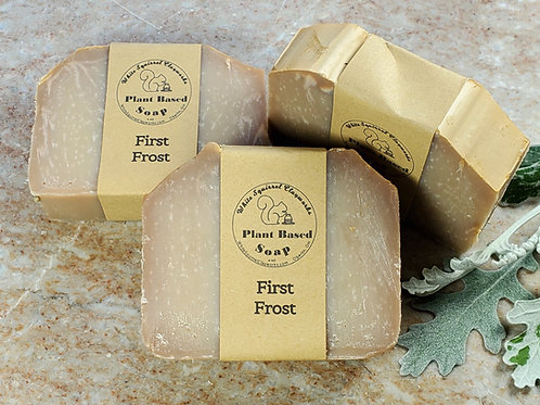 First Frost Scented All Natural Handmade Soap - 4oz