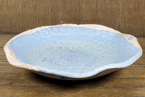 Handmade Ceramic Blue & White Bowl