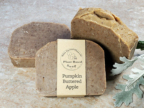 Pumpkin Buttered Apple Scented All Natural Handmade Soap - 4oz