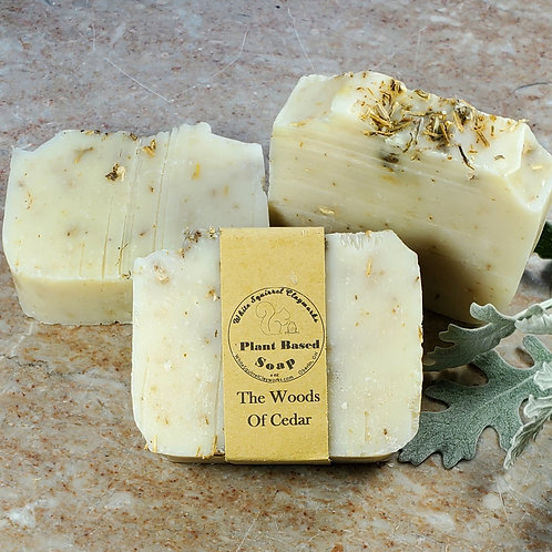 Woods of Cedar Scented All Natural Handmade Soap - 4oz
