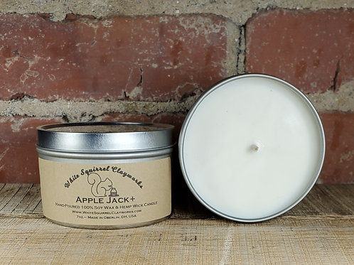 Apple Jack Hand-Poured Soy Candle - 7oz