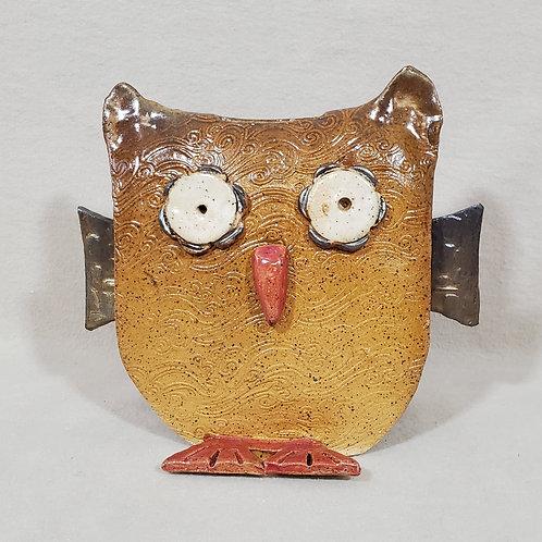 Handmade Ceramic Owl Bank