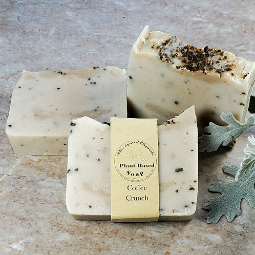 Coffee Crunch Scented All Natural Handmade Soap - 4oz