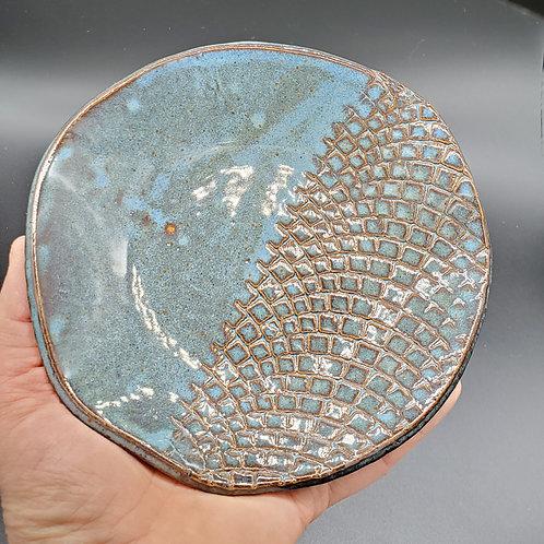 Handmade Ceramic Blue Bowl