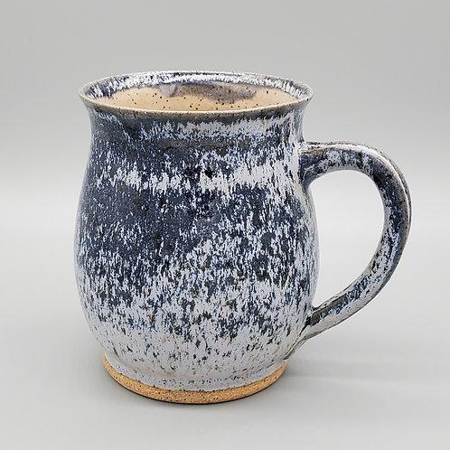 Pre-Order Handmade Navy Blue Frost Ceramic Mug