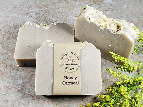 Honey Oatmeal Scented All Natural Handmade Soap - 4oz