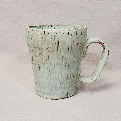 Handmade Ceramic Turquoise Mug with Speckles