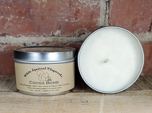 Cocoa Bomb Hand-Poured Soy Candle - 7oz