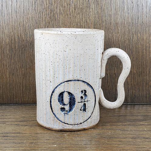 Pre-order Handmade 16oz  Ceramic White Mug with Platform 9 3/4