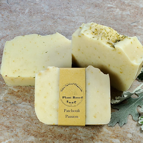 Patchouli Passion Scented All Natural Handmade Soap - 4oz