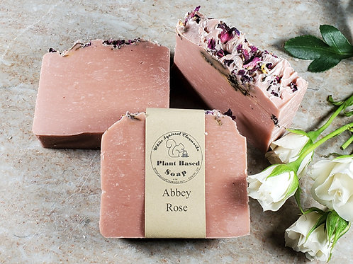 Abbey Rose Scented All Natural Handmade Soap - 4oz