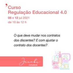 Curso Regulação Educacional 4.0