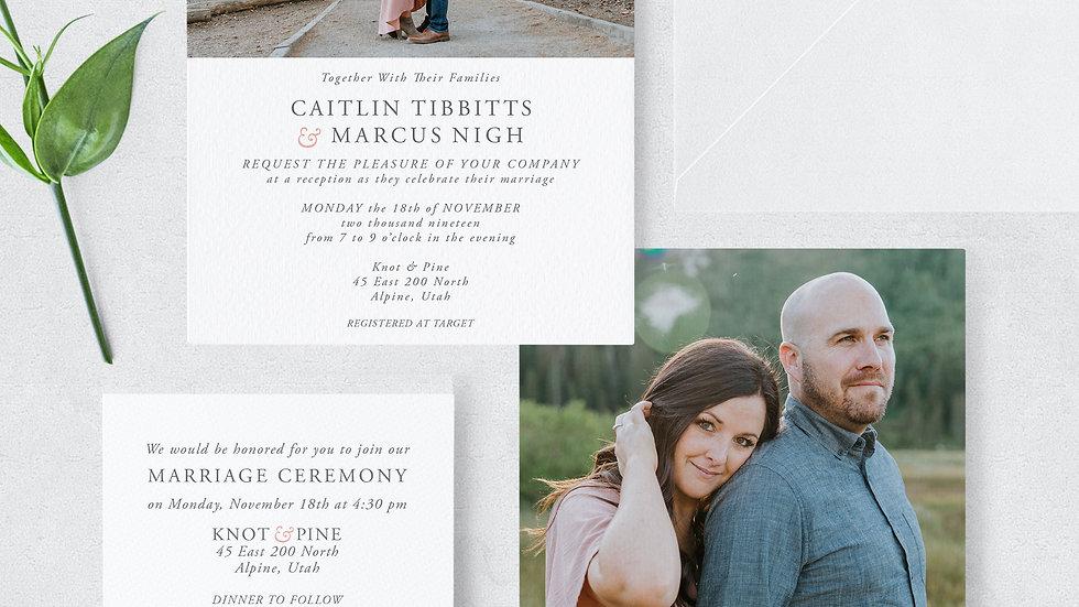 Caitlin Tibbitts & Marcus Nigh