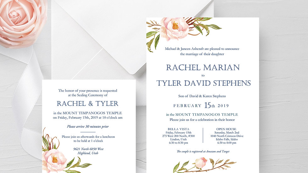 Rachel Ashcraft & Tyler Stephens