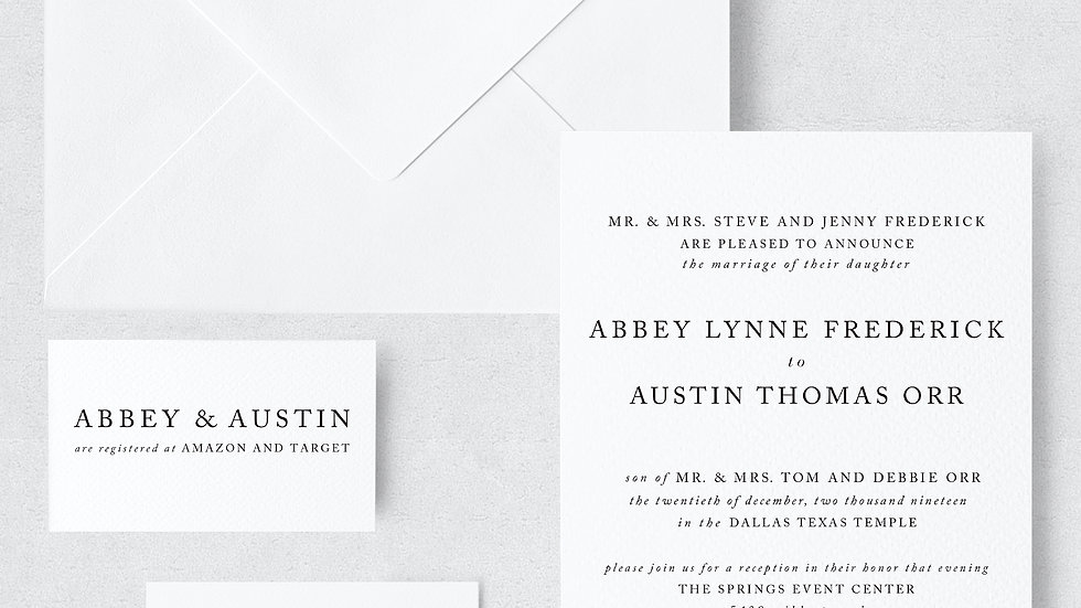 Abbey Frederick & Austin Orr