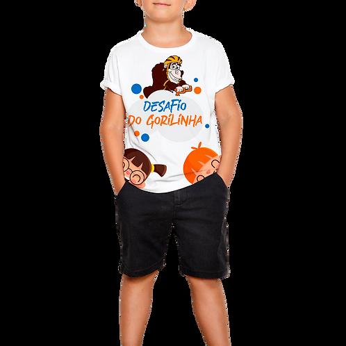 Camiseta Infantil Gorilinha
