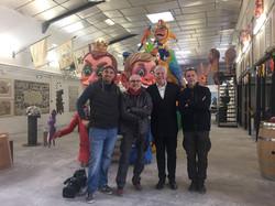 France3 au Musée du Carnaval