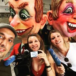 Azur TV au Musée du Carnaval