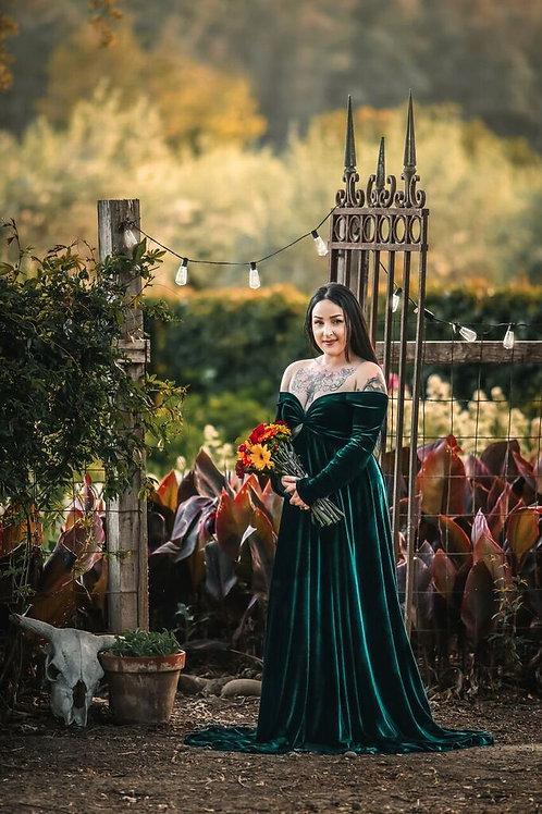Aspen Gown - Velvet Gown