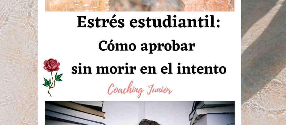 Estrés estudiantil: Cómo aprobar sin morir en el intento