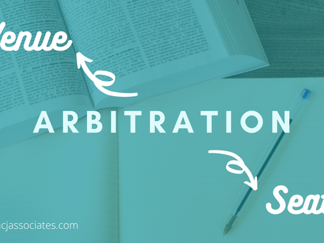 From 'Venue' to 'Seat' of Arbitration
