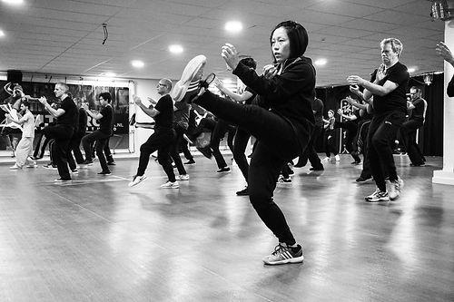 ving tsun kung fu groepstraining
