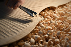 Hollowing the plates